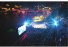 兰州首届黄河之滨音乐节激情开唱
