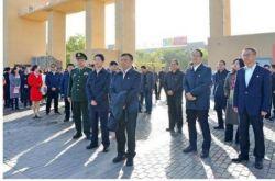 甘肃省廉政教育基地迎宾湖丝路廉洁文化主题公园揭牌