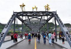 """""""黄河第一桥""""是每个游客到兰州必去的景点之一"""