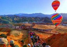 张掖丹霞景区全力争创国家5A级旅游景区