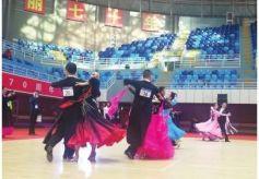 甘肃省第二届全民健身运动会体育舞蹈比赛开赛