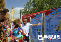 甘肃张掖借助传统文化艺术节开展反邪教宣传