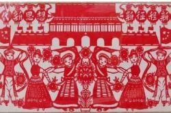 甘南藏族剪紙 原來還藏著江淮文化的符號