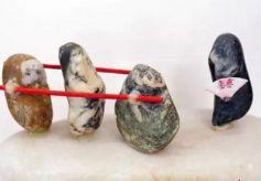 兰州古稀老人石头玩出艺术范:二度创作更显黄河石文化