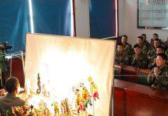 甘肃武警:传统文化进军营