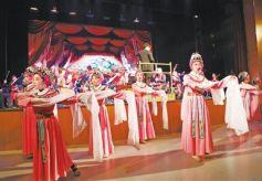 甘肅省隴劇院建立60周年 奏響美妙的迎新序曲