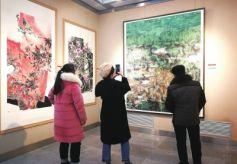 第八屆甘肅省專業畫院作品展開展
