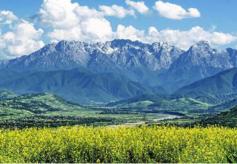 """甘肅和政縣破""""寒冰""""讓冬季旅游熱""""雪""""沸騰"""