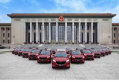 中国百姓用得上的精品车  长安欧尚X7北京人民大会堂上市