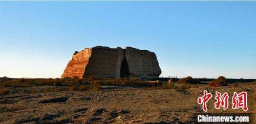 圖為玉門關遺址。(資料圖)甘肅省文物局供圖