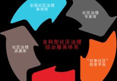 """""""三库一微一刊""""构建甘肃省首个全科型社区治理综合服务体系"""