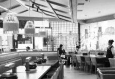 兰州中心、万达广场餐厅恢复堂食