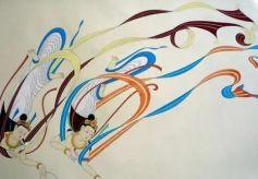 """敦煌壁画从最典型的""""飞天""""开始欣赏吧"""