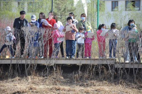 张掖黑河湿地国家级自然保护区管理局开展湿地观鸟认植物自然科普体验活动