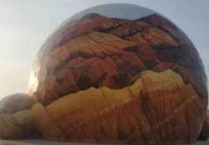 """张掖最具科技感的旅游打卡地——""""360极限飞球"""""""