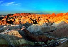 张掖地质公园3条精品研学旅游线路盛妆亮相