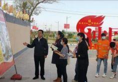 甘肃省乡村旅游示范村评估验收组在甘州区开展验收工作
