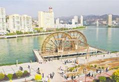 临夏州永靖县结合国家5A级旅游景区创建提升城市档次和整体品位