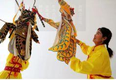 甘肃张掖:展示传统文化 感受非遗魅力