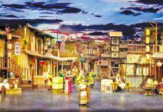 大型历史情景剧《回道张掖》旅游演出正式回归