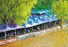 黄河兰州段水位回落 水上项目恢复经营