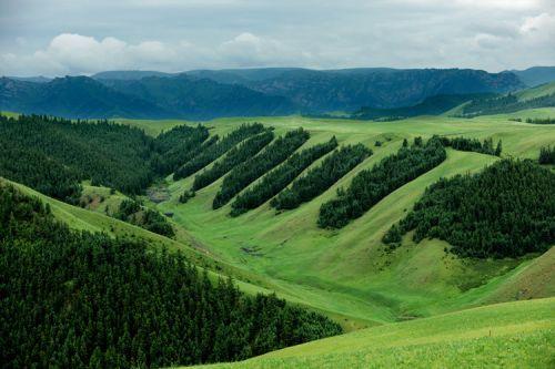张掖地质公园-中华裕固风情走廊景区