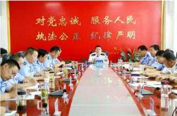 """张掖市公安局全面组织开展""""市树市花""""评选活动"""