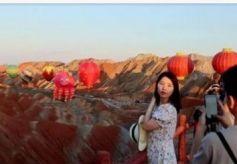 张掖七彩丹霞景区迎来暑期旅游旺季