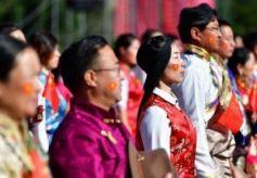 甘肃省武威市天祝藏族自治县迎来成立70周年