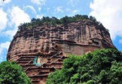 只有142米的甘肃山,但他在上很有名,是文化遗产之一