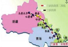 甘肃正在规划一条高铁大动脉,连接庆阳酒泉平凉定西兰州武威张掖