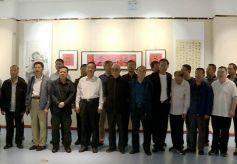 中华和文化书画印作品展在麦积区博物馆开展