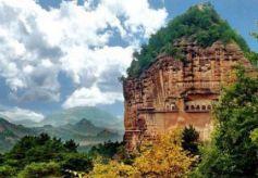 甘肃不该被埋没的山峰,高142米,由五个子景区,180多个景点组成
