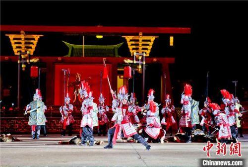 """《张国臂掖》将在8月25日""""七夕节""""当晚公演。 王将 摄"""