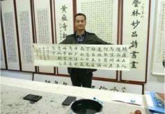 甘肃农民练习书法20年,一手唐楷网友称赞,能当书法家!