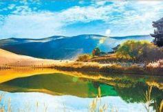 张掖甘州美化通道促旅游业发展