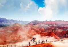 张掖七彩丹霞塑造中国旅游品牌