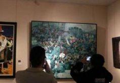 """全国百余件丹青画卷""""朝圣敦煌"""":不拘一格呈丝路万象"""