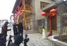 《中華小戲骨》劇組走進新區晴望川民俗文化村