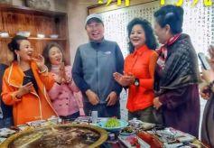 冯巩副主席品味甘肃兰州文化盛宴
