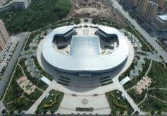 张掖丝绸之路文化艺术中心即将交付使用!