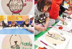 第二届《心之绘旅》国际儿童彩陶画展在兰举行