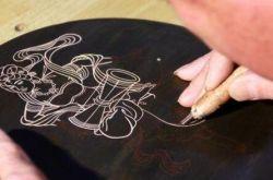 刻在木板上的敦煌文化,可打包帶走!