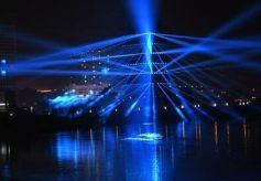 黄河楼《大有兰州》3D多媒体实景演出开启