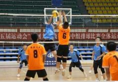 张掖市第五届运动会高中排球比赛在临泽圆满落幕