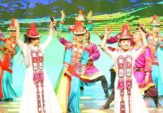 肃南县音乐舞蹈史诗《裕固儿女心向党》亮相省城兰州