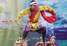 音乐舞蹈史诗《裕固儿女心向党》亮相黄河剧院