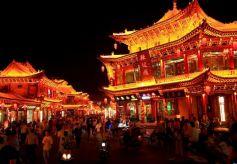 张掖甘州:红火的老街夜经济