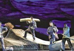 《八步沙》晋京演出载誉归来 汇报演出再次感动家乡人民