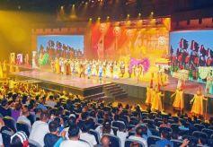全国首部边塞史诗剧《天下雄关》举行首演仪式